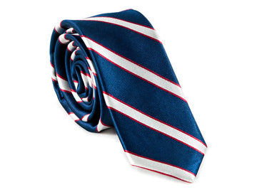 Patriot Striped Necktie