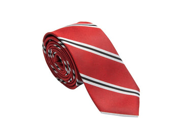 Power Broker Striped Necktie