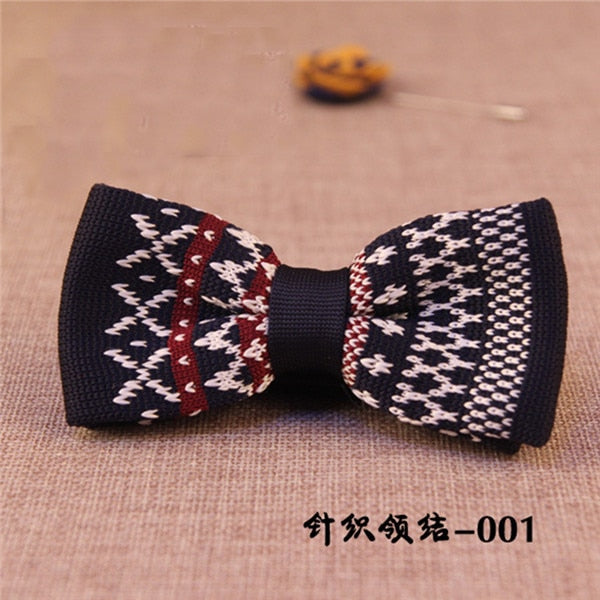 Unique Knit Bow Tie 6