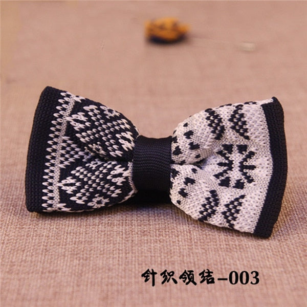 Unique Knit Bow Tie 4