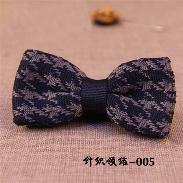 Unique Knit Bow Tie 9