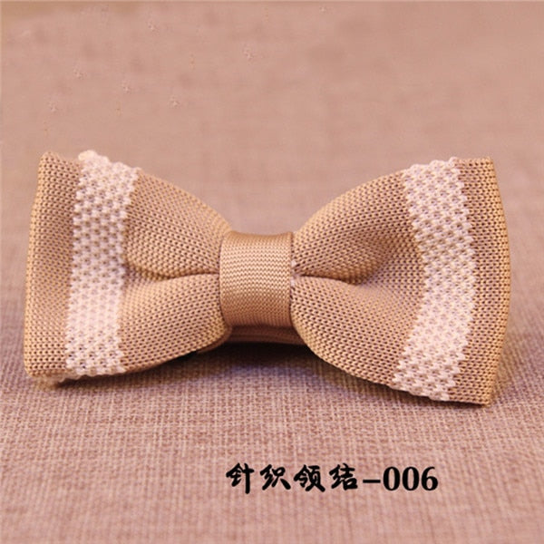 Unique Knit Bow Tie 3