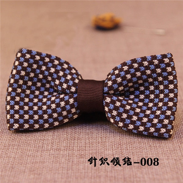 Unique Knit Bow Tie