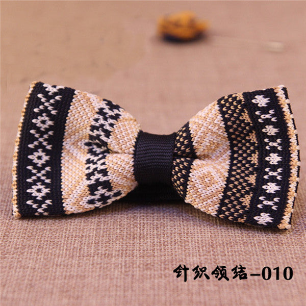 Unique Knit Bow Tie 7