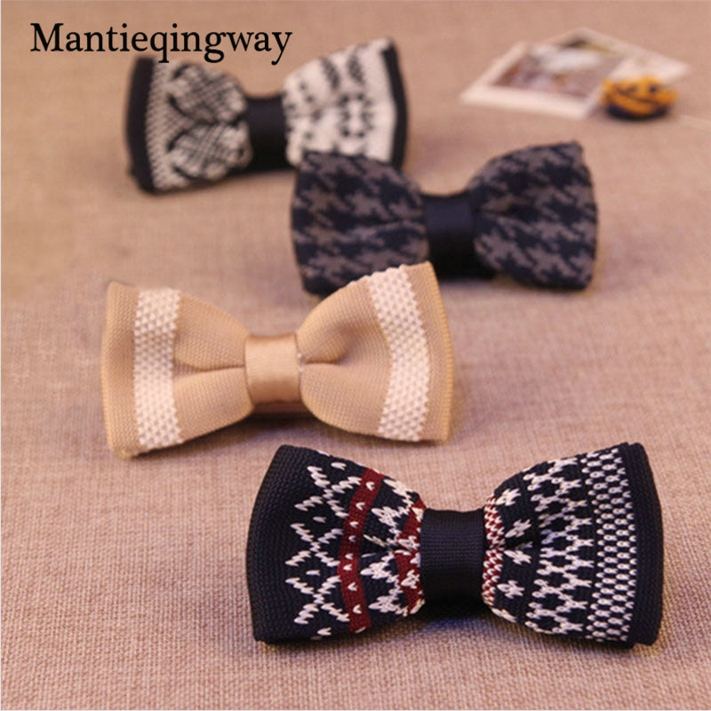 Unique Knit Bow Tie 8