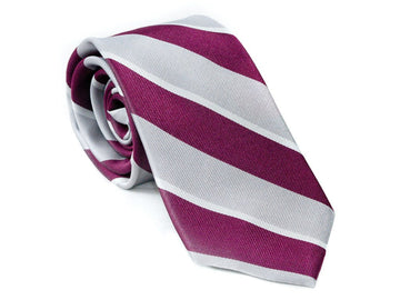 Regal Striped Necktie