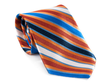 Slip N Slide Striped Necktie