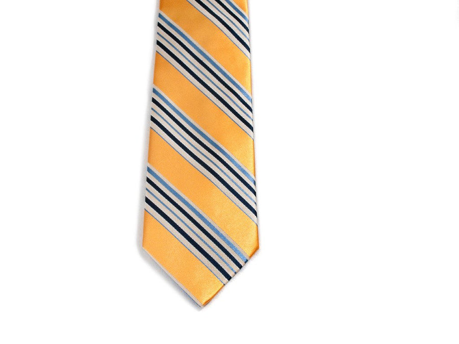 Sunspots Striped Necktie