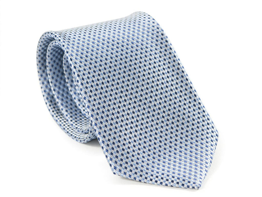 Tiny Blue Diamonds Necktie