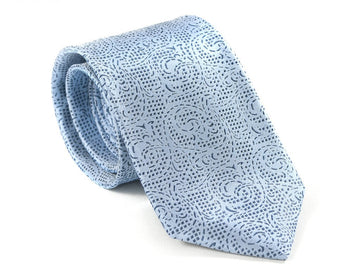 Turquoise Waters Scroll Necktie