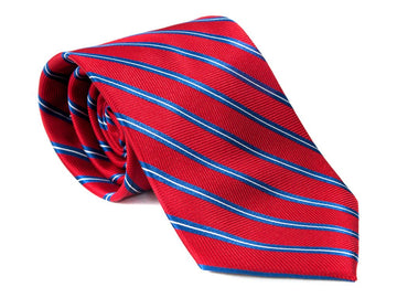 The VP Striped Necktie