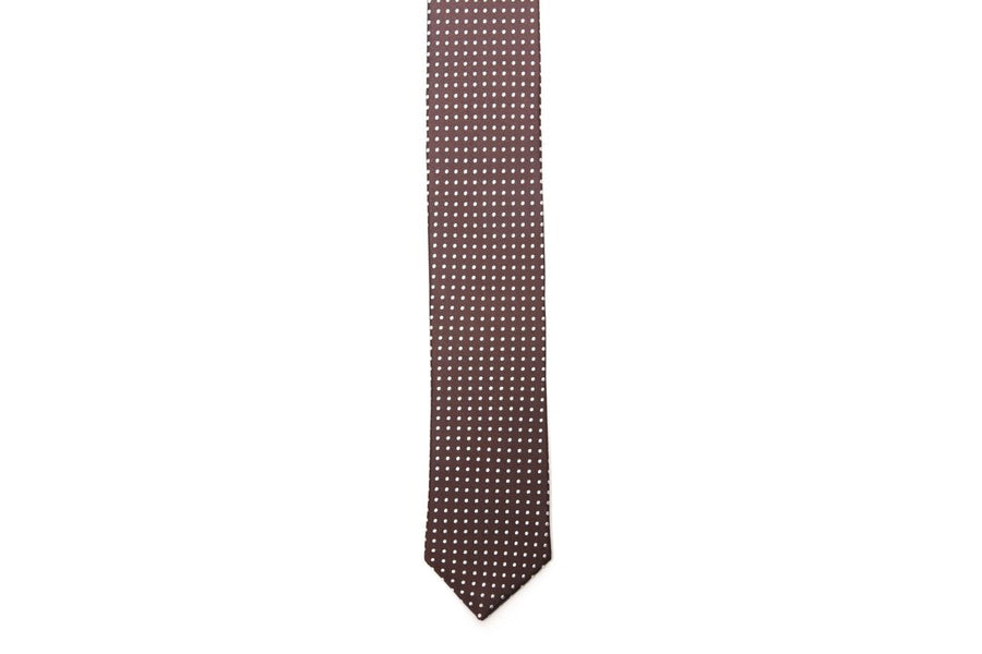White House Swiss Dots Necktie