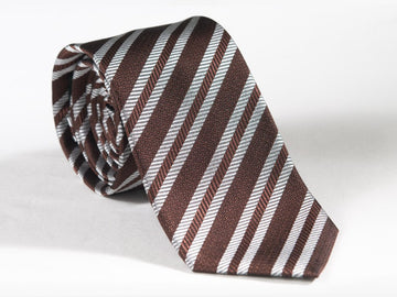 White Stripes Necktie