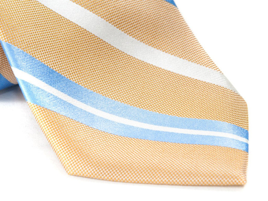 Yellow Jacket Striped Necktie