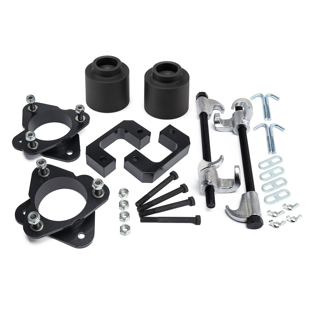 2007-2013 Chevy Avalanche 1500 Front Lift Kit with Shock Extenders with Compressor Tool