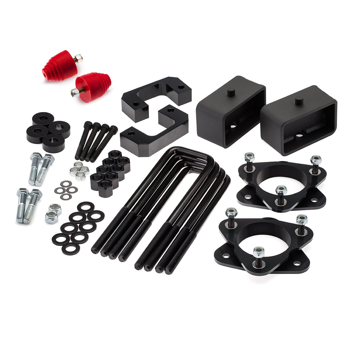 2007-2019 Chevy Silverado 1500 Full Lift Kit with Bumps Stops and Differential Drop Kit