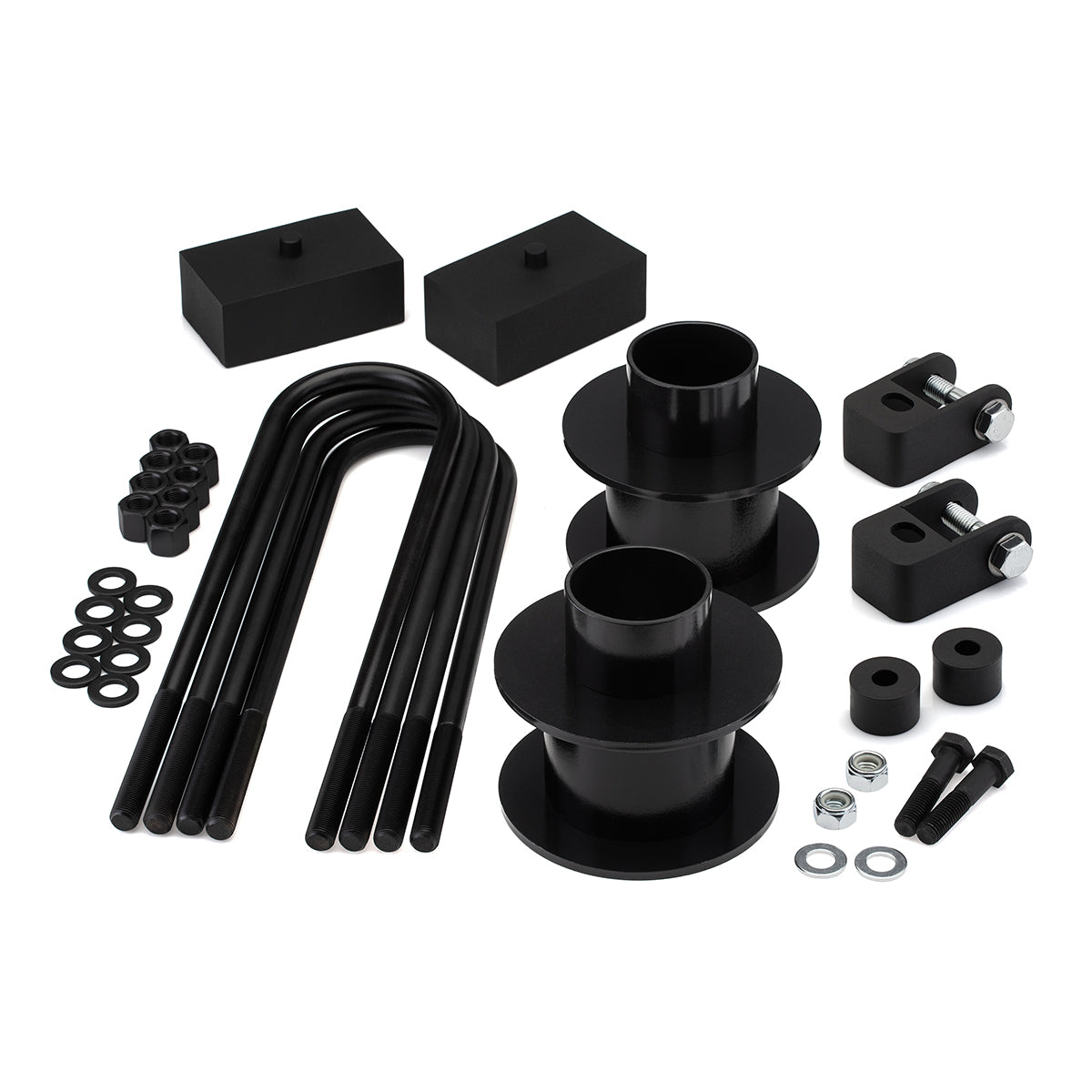 2005-2019 Ford F-350 Full Lift Kit with Bump Stop Drop and Shock Extenders