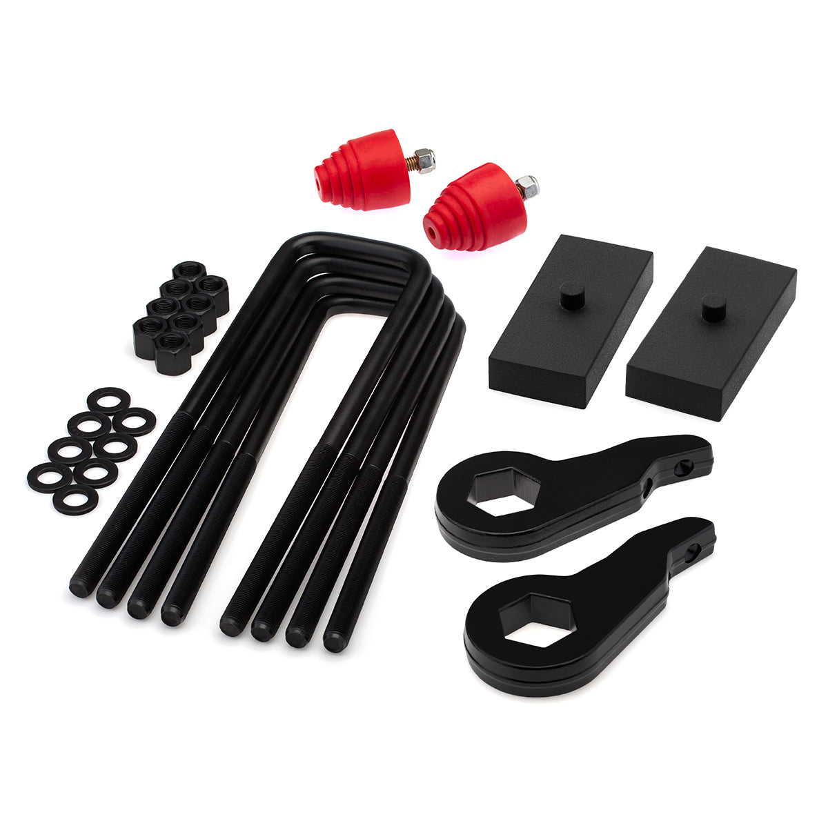 1999-2007 Chevy Silverado 1500 4WD Full Lift Kit with Bump Stops