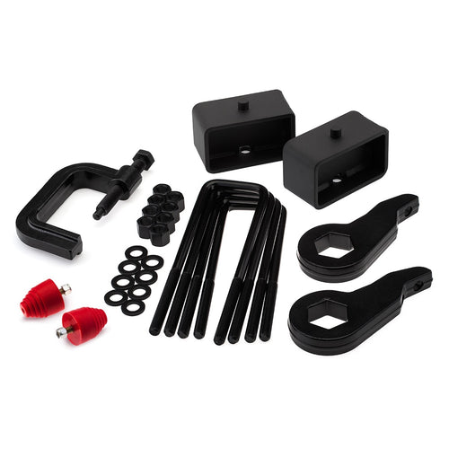 1999-2007 GMC Sierra 1500 4WD Full Lift Kit with Bump Stops and Torsion Key Unloading/Removal Tool