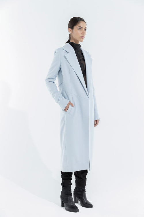 LC Coat - Light blue