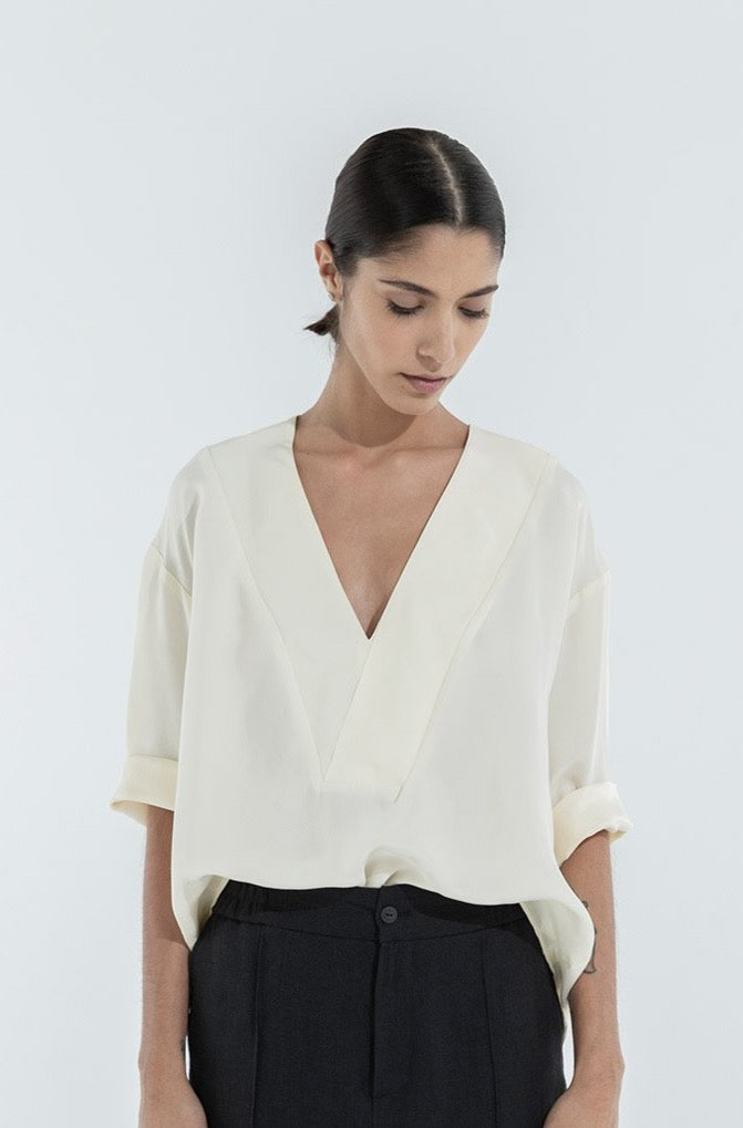 WILLY TOP -  OFF WHITE