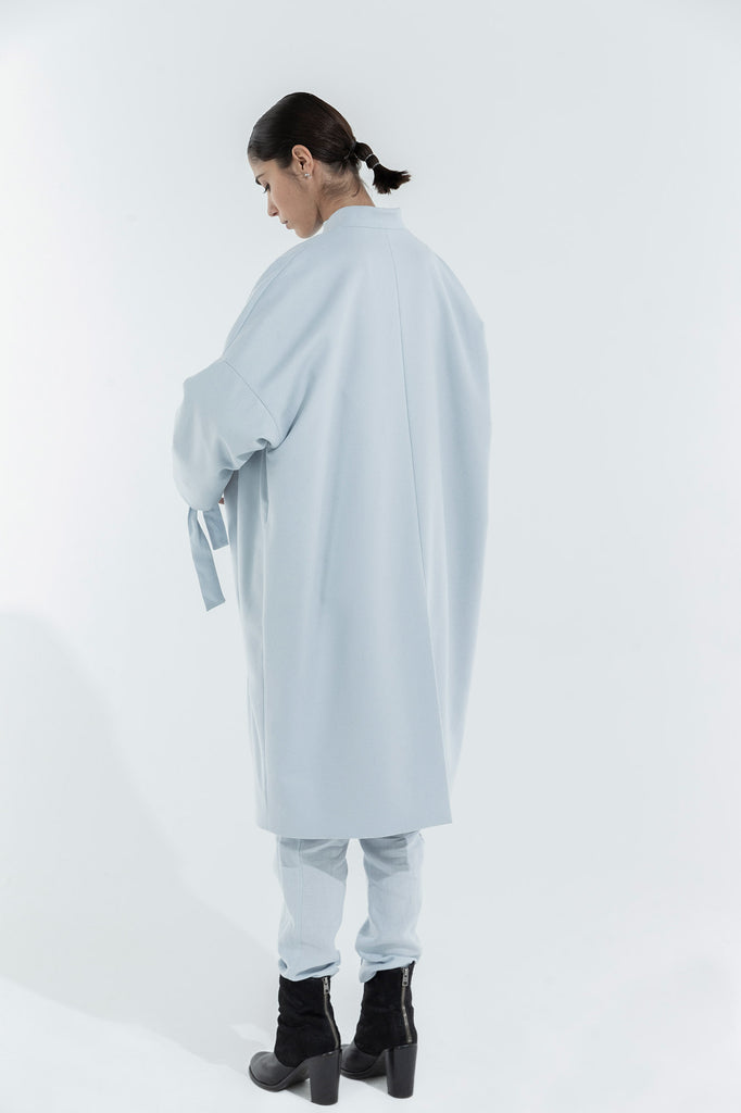 TINA COAT - LIGHT BLUE