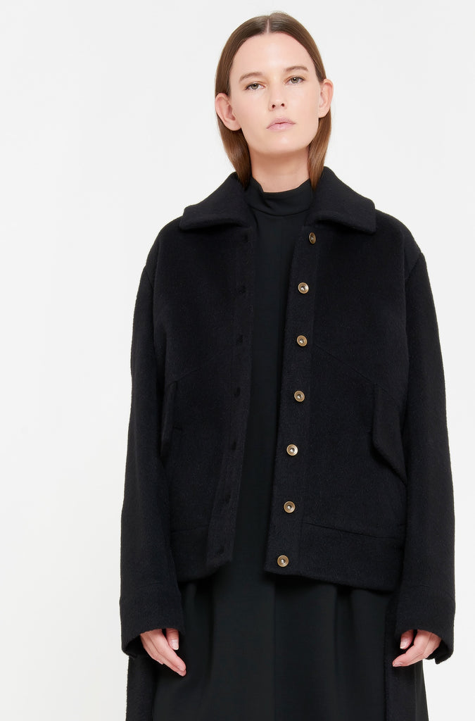 SUZETTE JACKET - BLACK