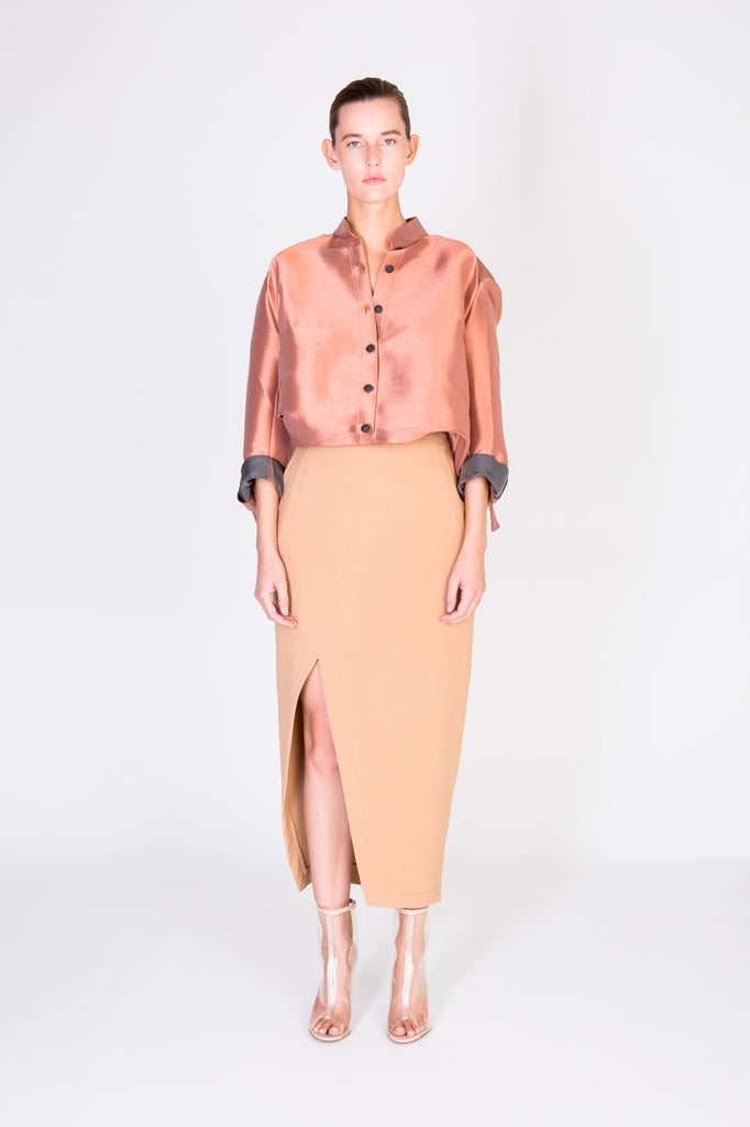 Rosie shirt - Copper