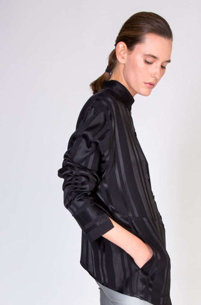 OONA SHIRT - BLACK