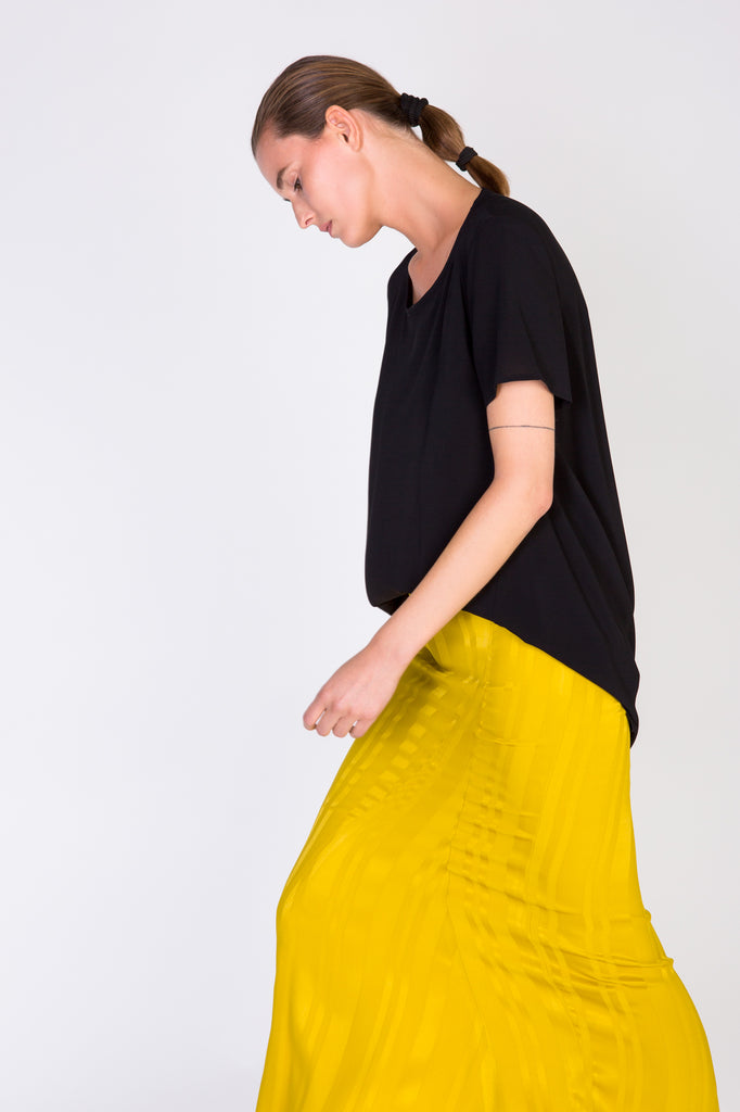 LOUISA SKIRT - YELLOW