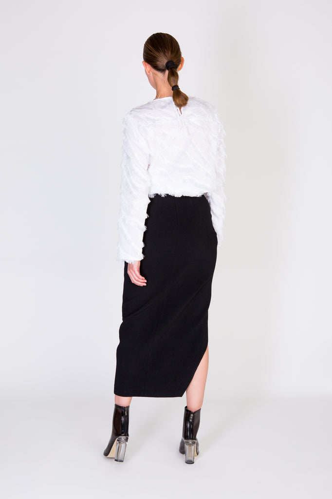 RAYAH SKIRT - BLACK