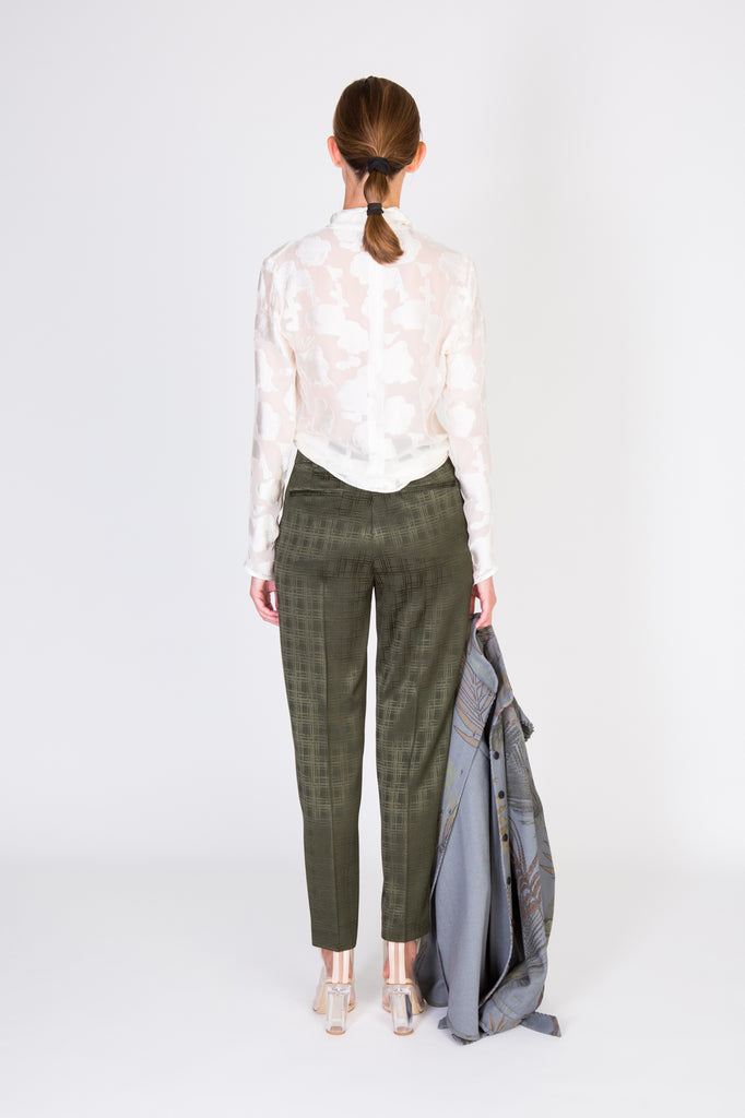 MARCEL TROUSERS - ARMY GREEN