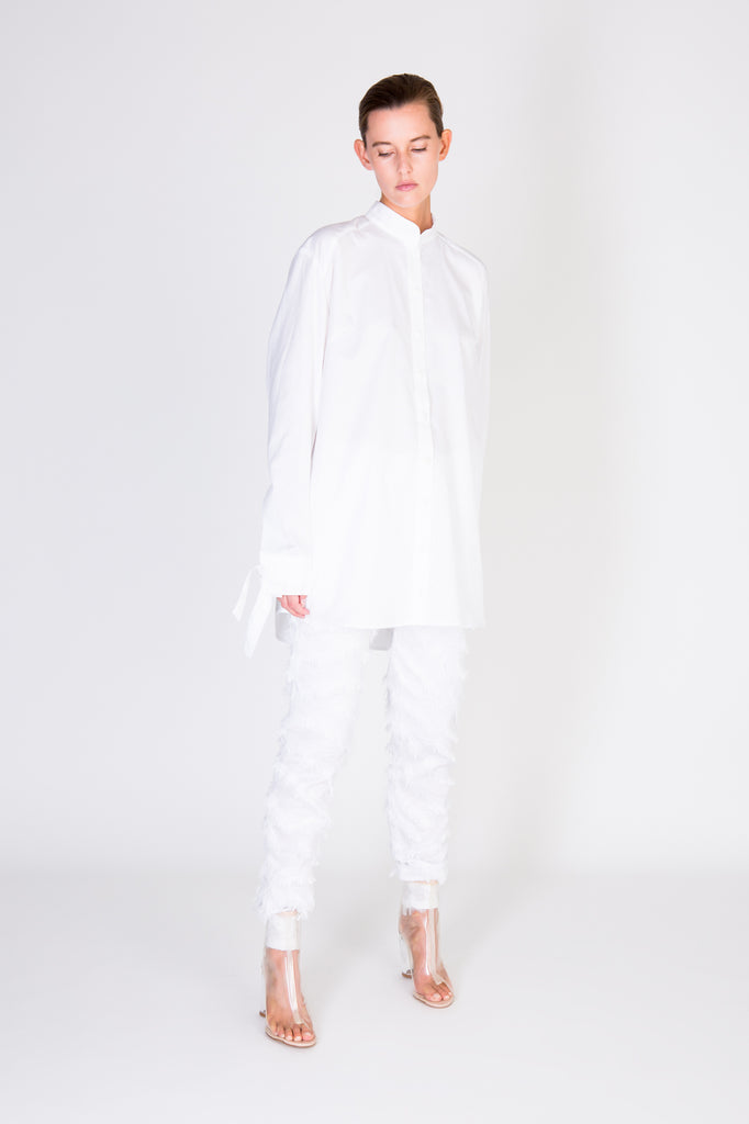 Unfold Trousers - White Zebra