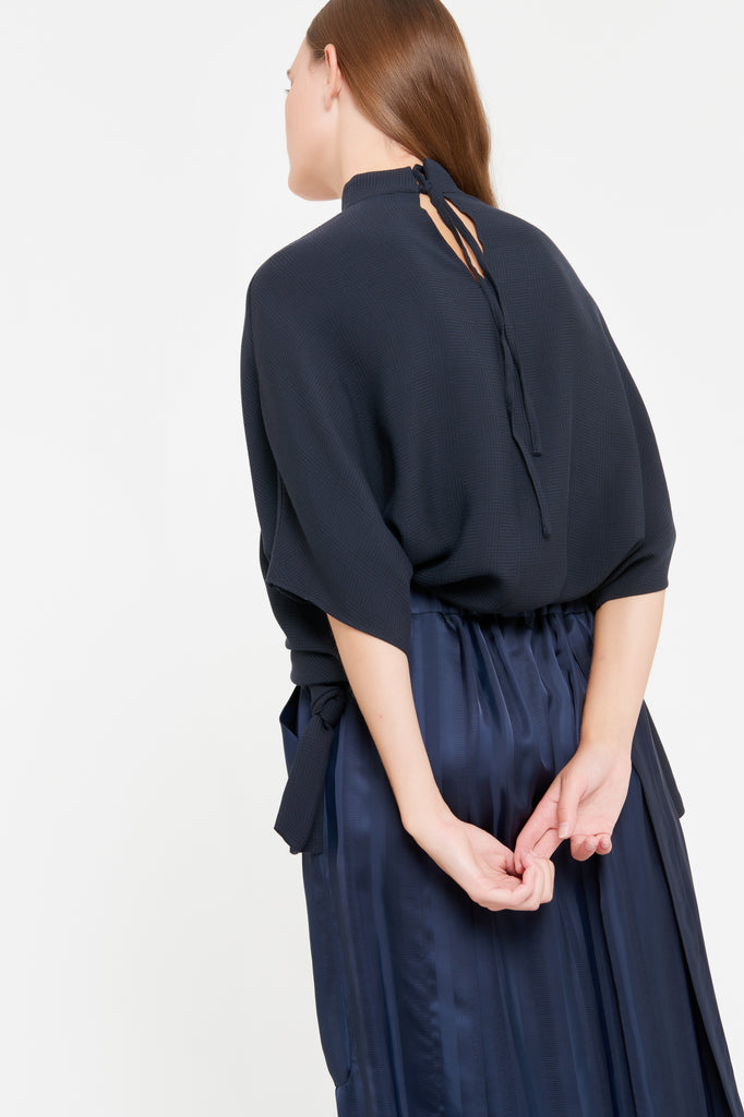 POLLY SKIRT - NAVY BLUE