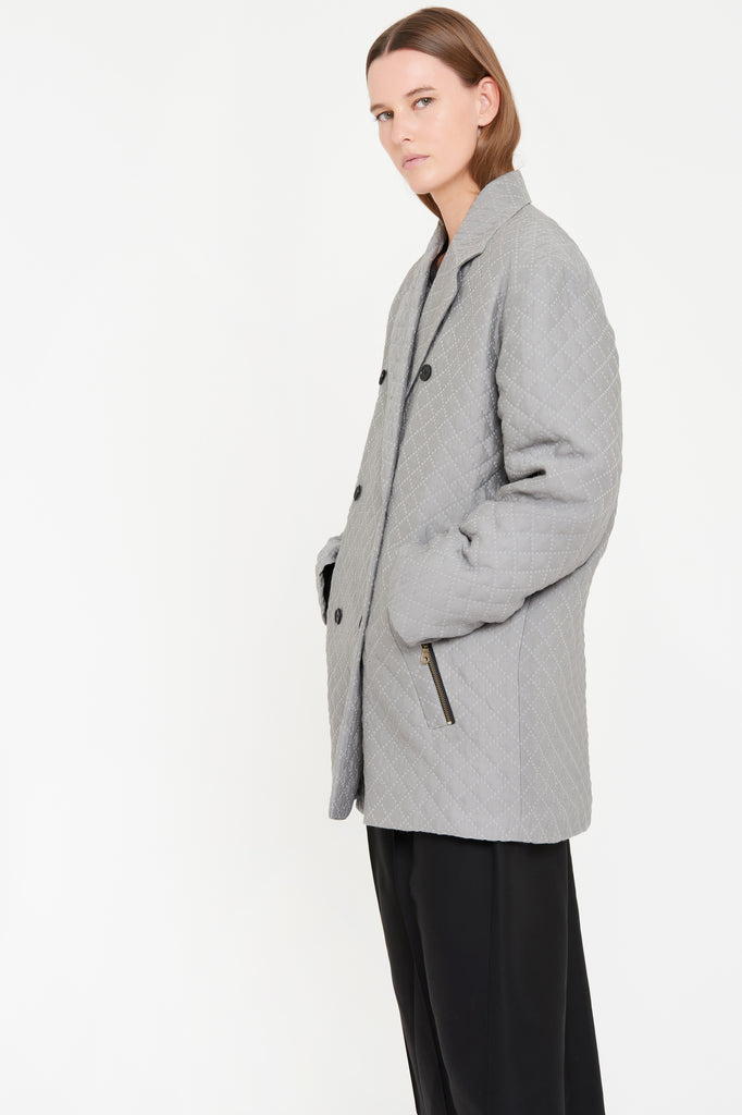 OONA COAT - GREY (limited edition)