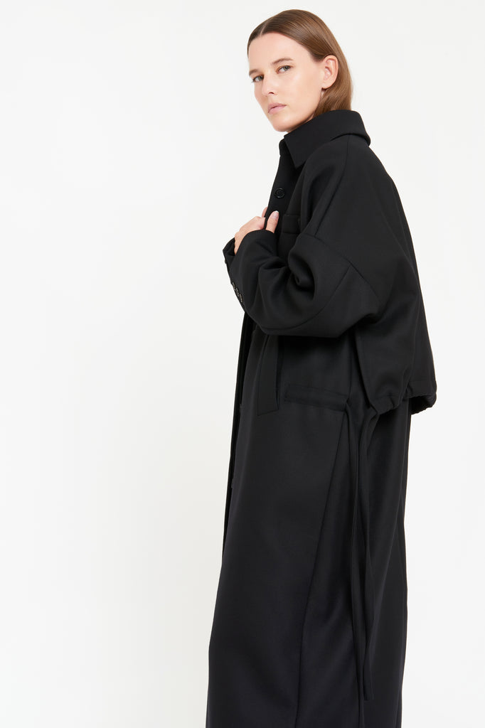 MICHELLE COAT - BLACK