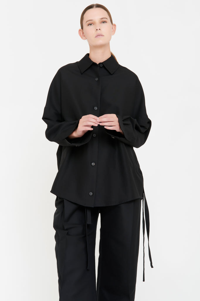 MICHELLE SHIRT - BLACK
