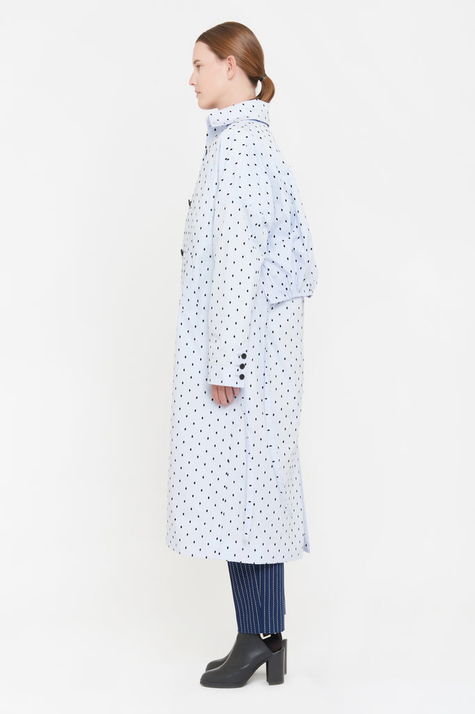 MICHELLE COAT - LIGHT BLUE (limited edition)