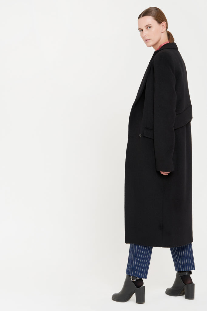 LAURA COAT - BLACK