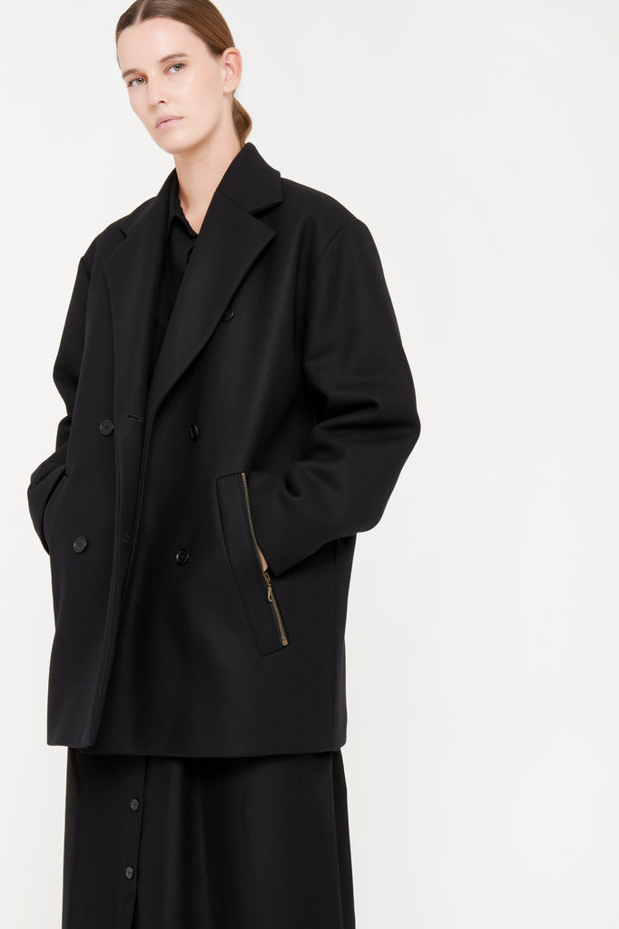OONA COAT - BLACK