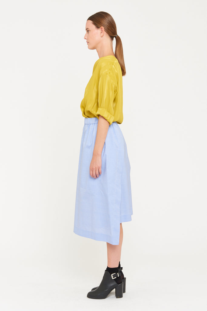POLLY SKIRT - LIGHT BLUE
