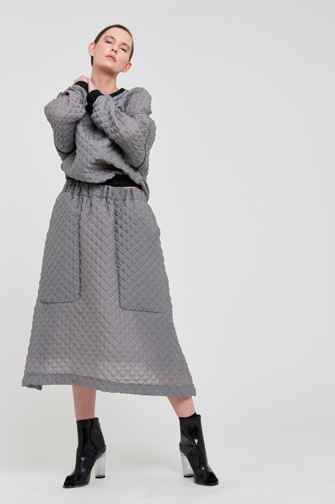 POLLY SKIRT - GREY (limited edition)