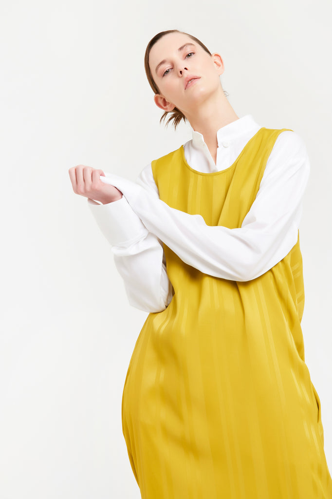 Dorian Dress - Yellow