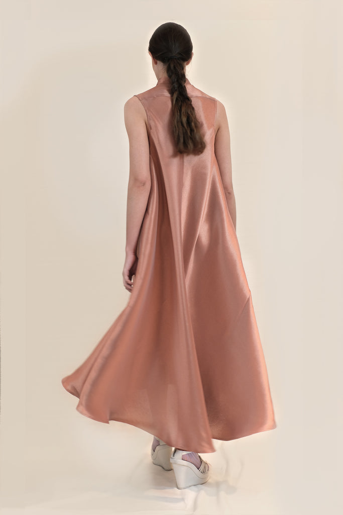XL DRESS - COPPER