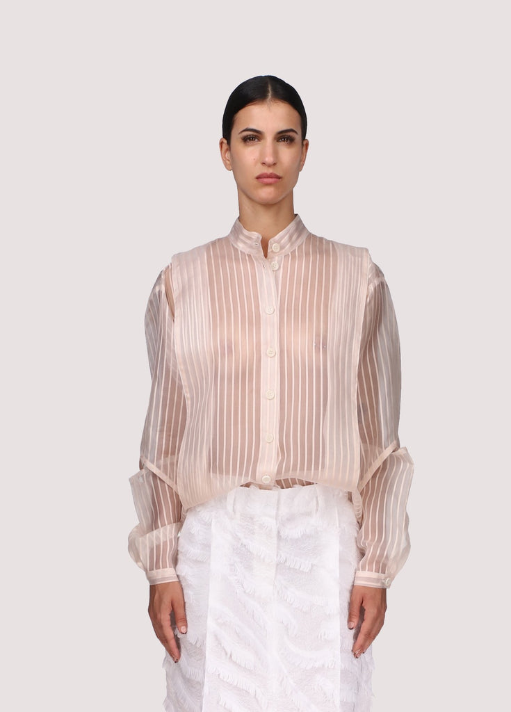 COLETTE SHIRT - TRANSPARANT SILK