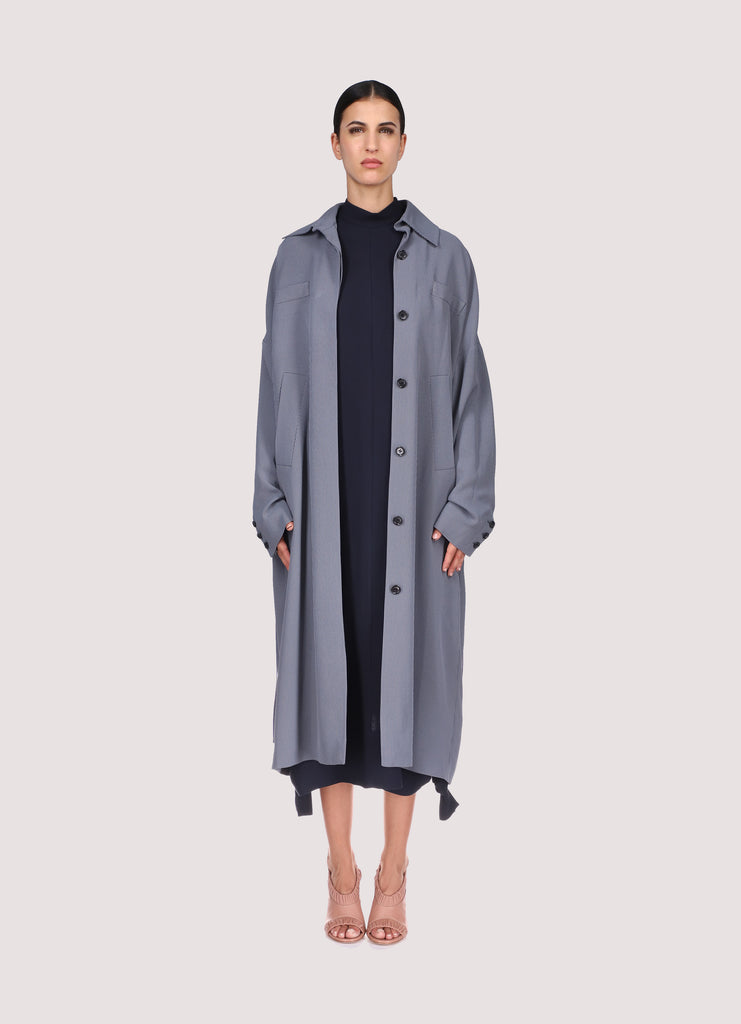 MICHELLE COAT -  GREY