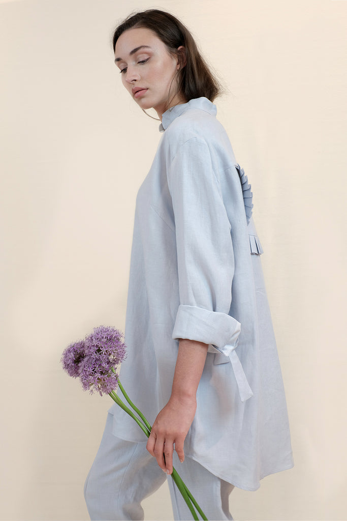 ROSIE SHIRT - LIGHT BLUE