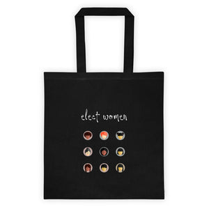 Elect Women Tote bag in black