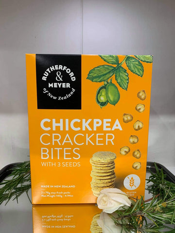 Rutherford and Meyer Chickpea Crackers