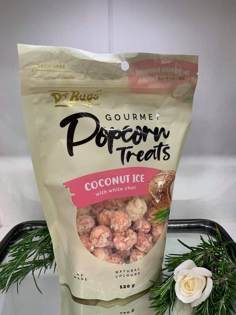 Coconut Ice Popcorn